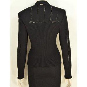 St. John Sport by Marie Gray Jackets & Coats - St John Sport Marie Gray jacket M black zipper fro